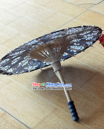 Traditional Chinese Blue and White Decoration Umbrella