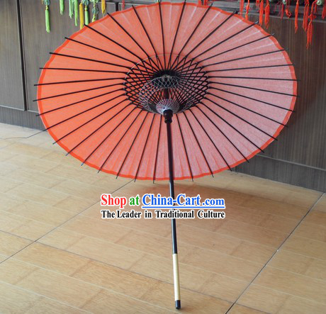 Traditional Japanese Red Wedding Umbrella
