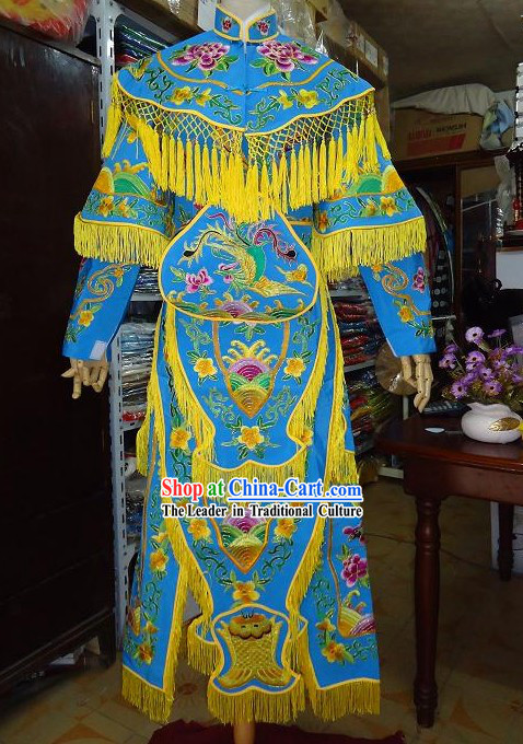 Chinese Classic Opera Dao Ma Dan Armor Costume for Women