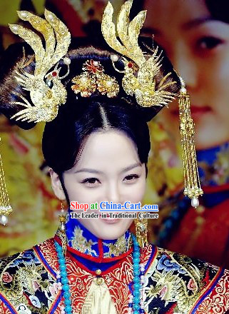 Ancient Chinese Empress Phoenix Hair Accessories