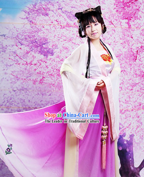 Ancient Chinese Tang Dynasty Hanfu Dress for Women