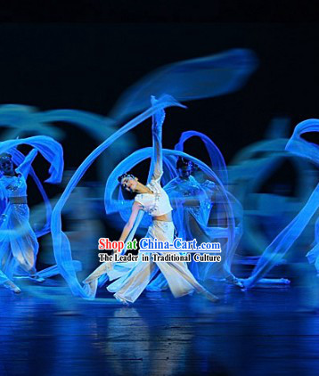 Chinese Classic Water Sleeve Dance Costumes