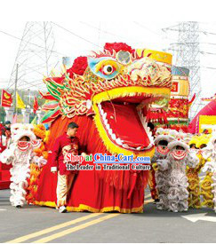 Super Large Dragon Dance Costumes for Display and Parade