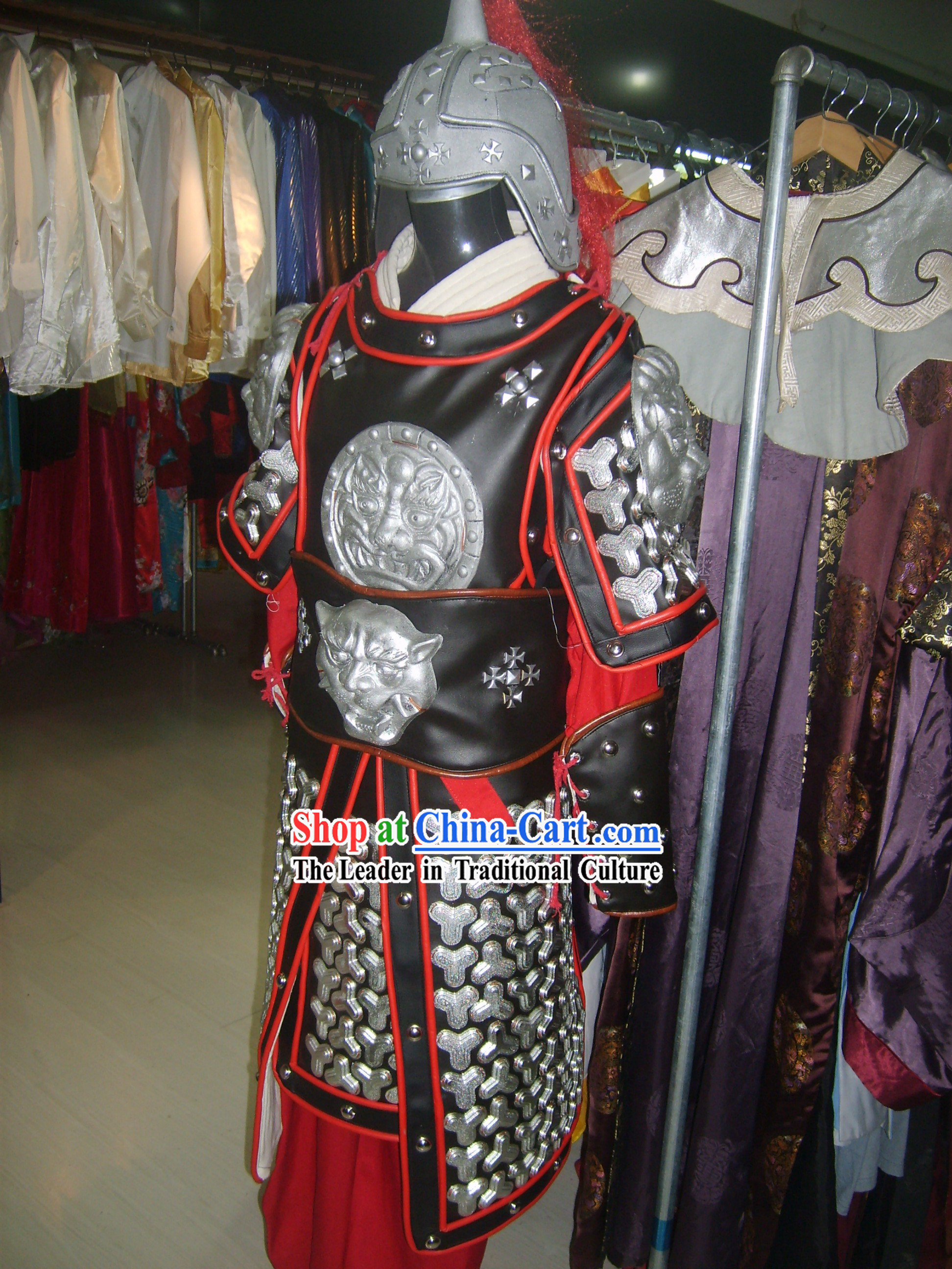 Chinese Warrior Armor Costumes Complete Set