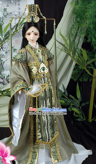 Ancient Chinese Emperor Costumes Complete Set
