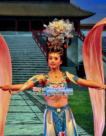 Ancient Chinese Tang Dynasty Empress Palace Dance Costumes