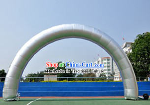 Chinese Large Inflatable Silver Arch
