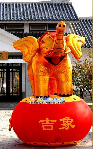 118 Inch Large Inflatable Elephant