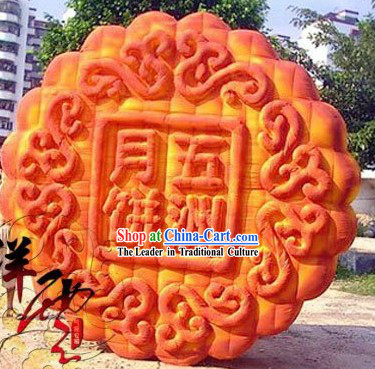Traditional Large Chinese Inflatable Mooncakes