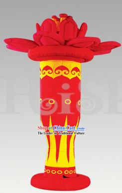 Traditional Large Chinese Inflatable Flower Basket