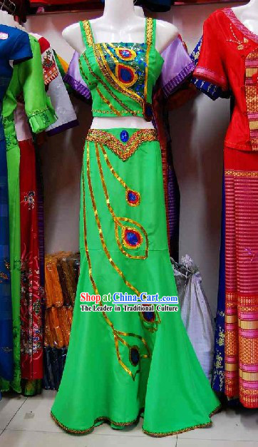 Thailand Peacock Dance Costume