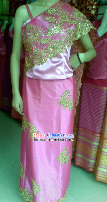 Traditional Thailand Dress Set for Women
