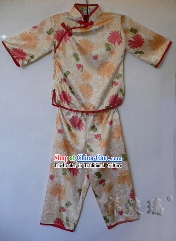 Peking Rui Fu Xiang Traditional Mandarin Suit for Children
