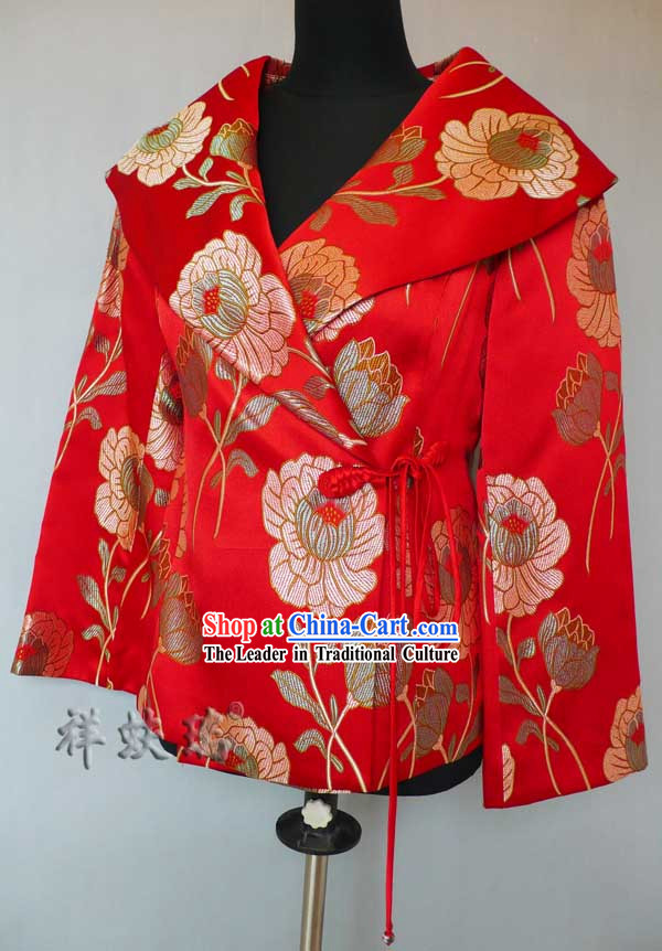 Traditional Chinese Rui Fu Xiang Wedding Mandarin Dress for Women