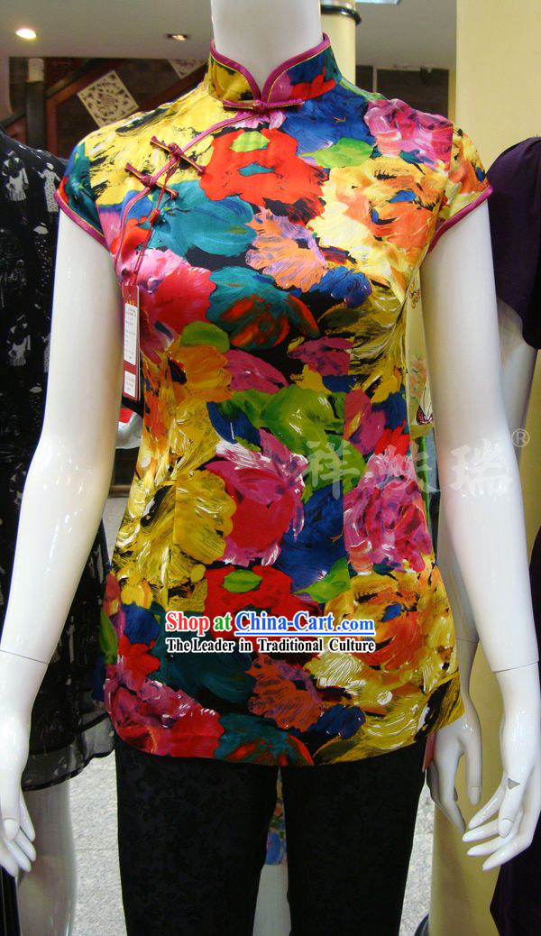 Beijing Rui Fu Xiang Silk Upper Outer Garment for Women