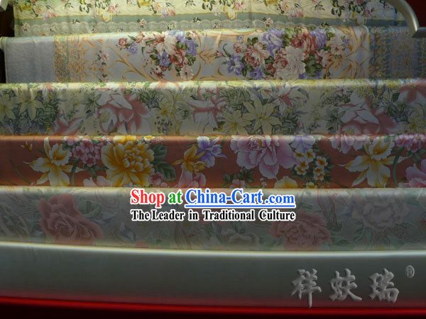 China Beijing Rui Fu Xiang Silk Fabric