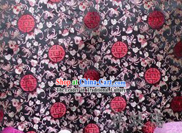 China Beijing Rui Fu Xiang Silk Brocade Fabric