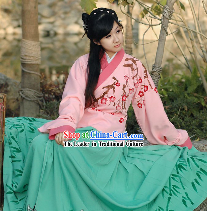 Female Ancient Chinese Clothing Complete Set
