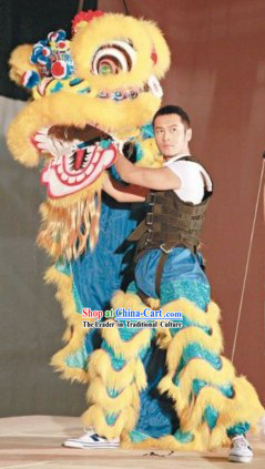 Top Chinese Classic Lion Dancing Costumes Complete Set