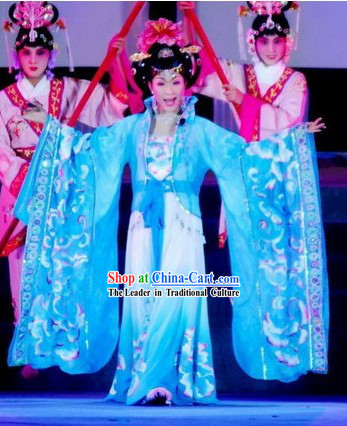 Chinese Tang Dynasty Empress Costumes and Wig Complete Set