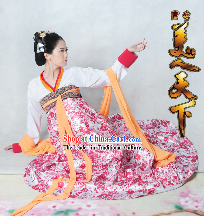 Ancient Chinese Palace Lady Clothing Complete Set