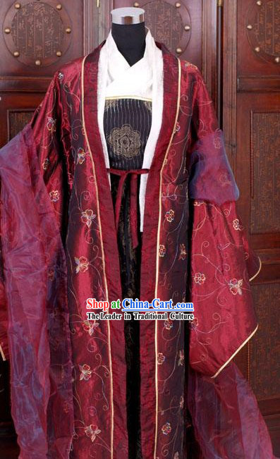 Ancient Tang Song Dynasty Royal Lady Dress Set for Mother