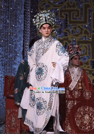Beijing Opera Wu Sheng Clothing and Hat