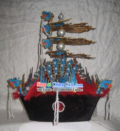 Ancient Chinese Empress Phoenix Crown Hat