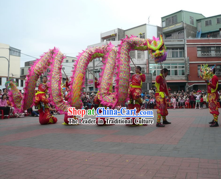 Competition and Parade Dragon Dancing Costumes Complete Set