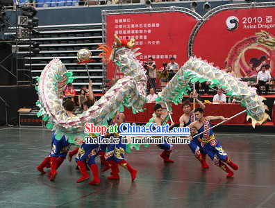 Standard Competition Net Dragon Dance Equipment Complete Set