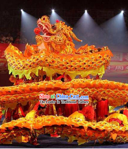 Beijing Olympic Games Performance Dragon Dancing Costumes Complete Set