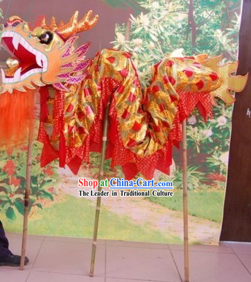 Three to Four People Dragon Dancing Costumes