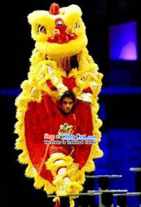 Professional Competition and Celebration Lion Dance Costumes Complete Set