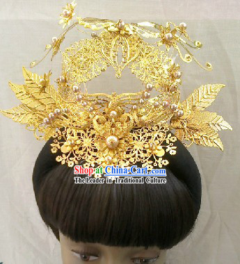 Chinese Classical Palace Royal Empress Hat for Women