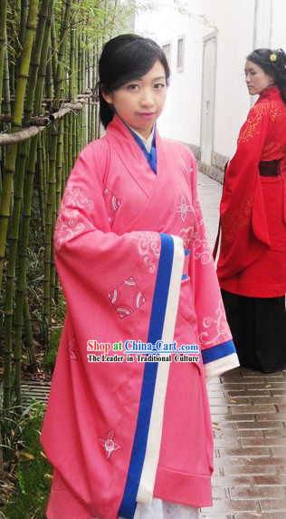 Ancient Chinese Han Dynasty Empress Dress Complete Set