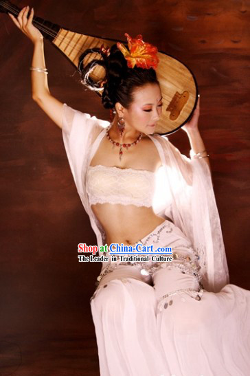 Chinese Fei Tian Dance Costumes for Women