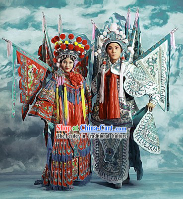 Beijing Opera Love Hua Dan and Wu Sheng Two Complete Sets for Men and Women