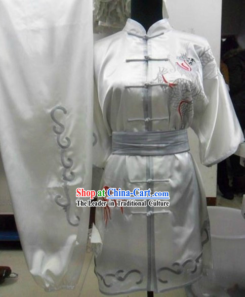 Professional Silk Dragon Tai Chi Uniform for Men