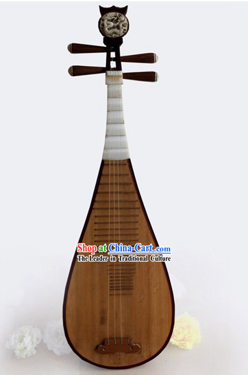 Chinese Classic Wooden Lute