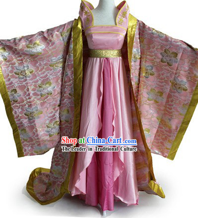 Tang Dynasty Palace Empress Costume Complete Set for Women