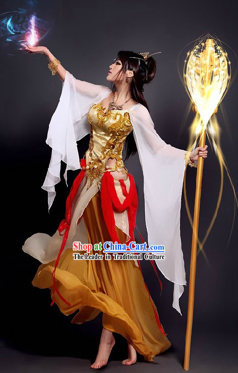 Ancient Chinese Magic Fairy Costumes for Women