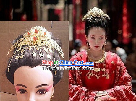 Ancient Chinese Empress Wedding Phoenix Hair Accessories for Brides