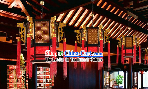 Traditional Chinese Ancient Dynasty Style Dragon Palace Lantern