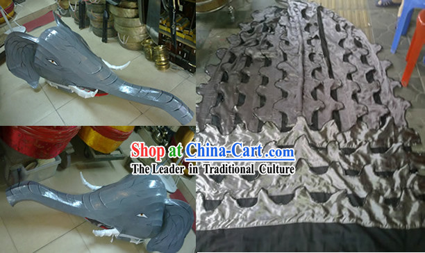 Elephant Head Body Pants Shoes Dance Costumes (all creature's costumes can be custom made)