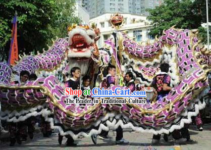 Grand Opening and Business Booming Celebration Dragon Dancing Costume Complete Set