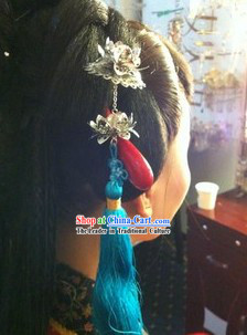Ancient Chinese Handmade Long Tassel Hanging Hair Accessories