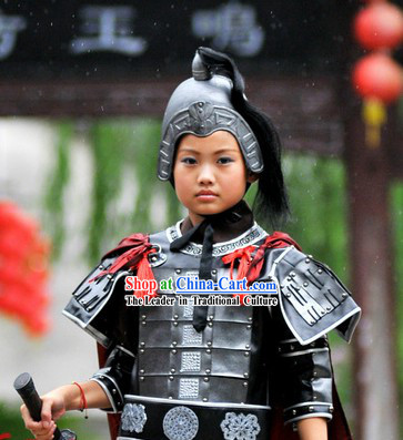 Ancient Chinese General Armor Costumes for Children