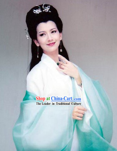 Ancient Chinese Zhao Yazhi Costumes and Headwear for Women