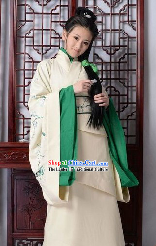 Traditional Chinese Han Dynasty Princess Clothes Complete Set for Women