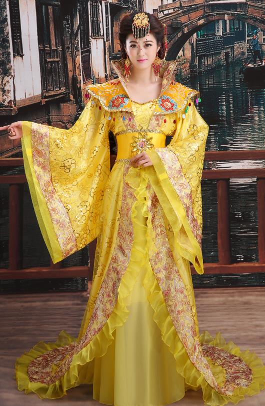 Ancient Chinese Imperial Palace Princess Costumes Complete Set for Women